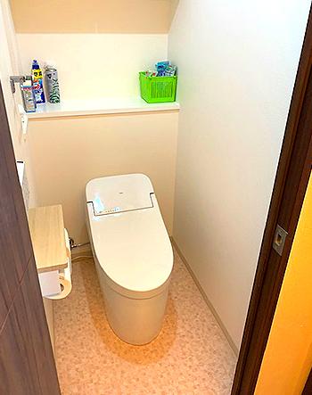 手洗い場をなくすことで、すっきりした空間になりました。